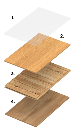 Compound Solid Flooring